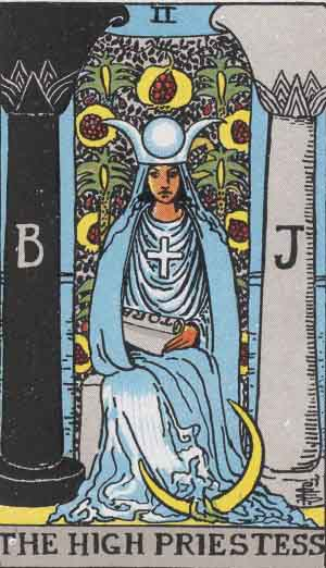 The Papess Tarot Card