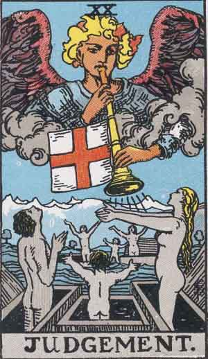 The Judgment Tarot Card